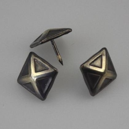 Decoratieve siernagels 4-kant