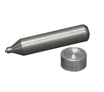 Handstempel voor drukknopen