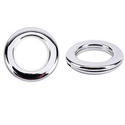 Clip-together Eyelets, Chrome