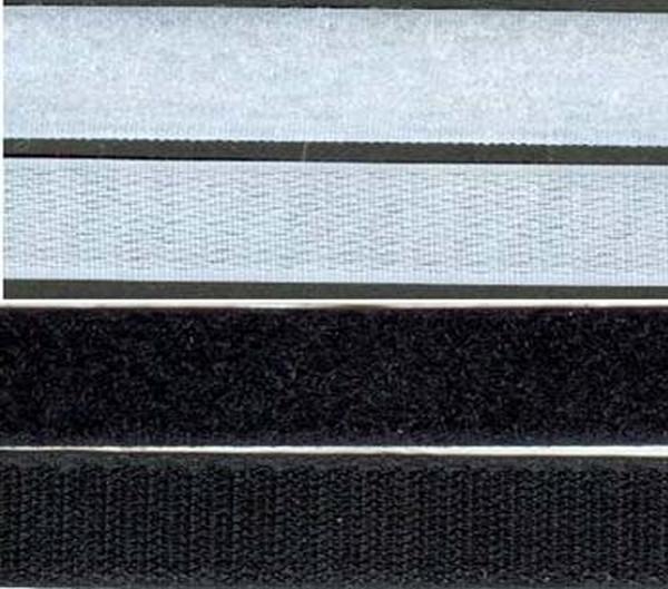 Klittenband 25 mm, LUS p/m