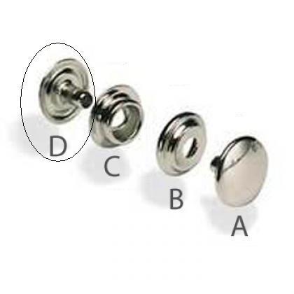 Prym Drukknopen deel D-5mm