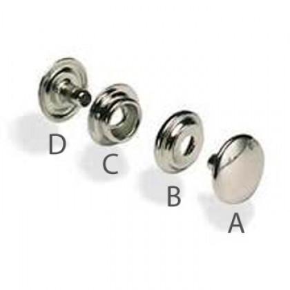 Prym Drukknopen A, B, C & D